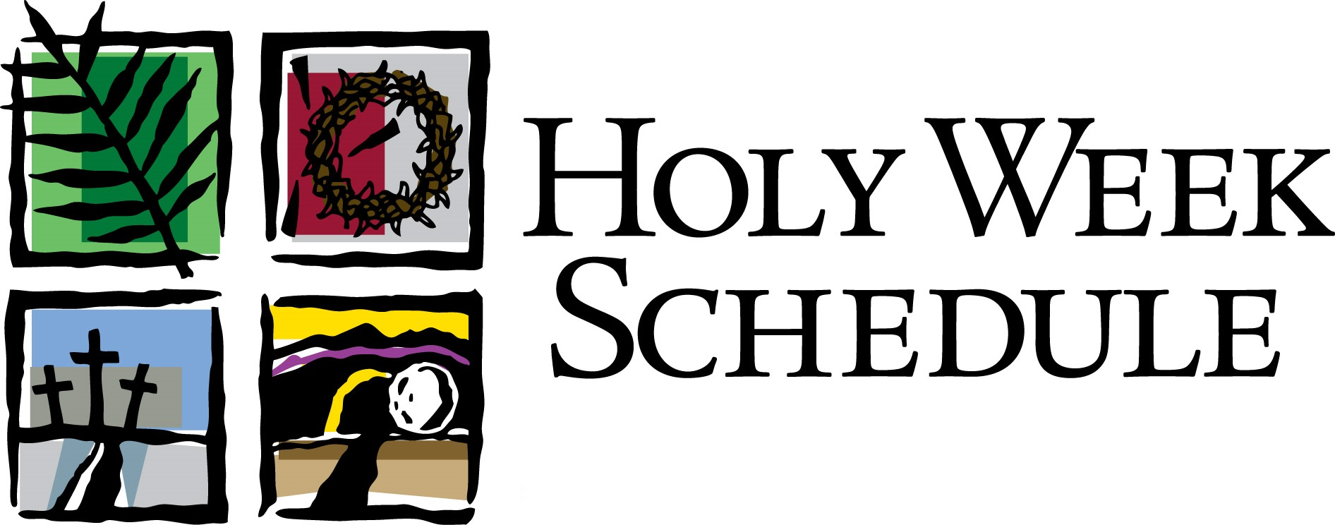 Holy Week Activities and Services